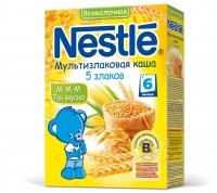 Nestle Безмолочная мультизлаковая каша 5 злаков, 200г