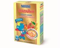 Nestle Каша  Шагайка молочная 5 злаков с клубникой и вишней, 200г