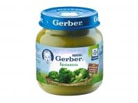 Gerber Пюре брокколи  с 4 месяцев 80г.