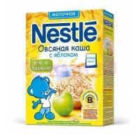 Nestle Каша сухая молочная овсяная с яблоком c 5 месяцев  250 г