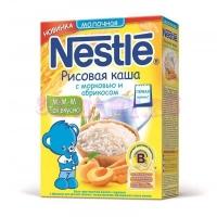 Nestle Каша сухая молочная рис,морковка, абрикос c 5 месяцев  250 г