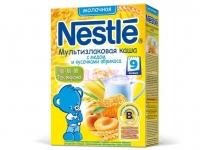 Nestle Каша сухая молочная мультизлаковая мед и абрикос c 9 месяцев  250 г