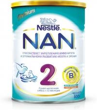 НАН 2  Сухая молочная смесь с 6 месяцев, 800 г