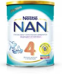 НАН 4 Детское молочко с бифидо- и лактобактериями с 18 месяцев, 800 г.