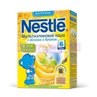 Nestle Каша сухая молочная мультизлаковая яблоко банан с 6 месяцев  250 г