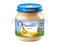Gerber Пюре банан с 6 месяцев 130 мл
