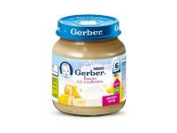 Gerber Пюре банан со сливками c 6 месяцев 130 мл