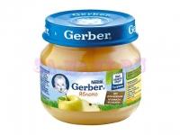 Gerber Пюре яблоко с 4 месяцев 80 мл