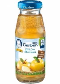 Gerber Сок яблоко  с 5 месяцев, 175 мл