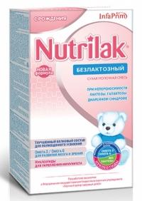 Нутрилак Безлактозный молочная смесь (с рождения) 350 г