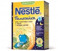 Nestle Каша Помогайка безмолочная  Счастливых снов 5 злаков с липовым цветом, 200г