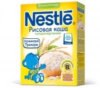 Nestle Безмолочная рисовая каша гипоаллергенная, 200г