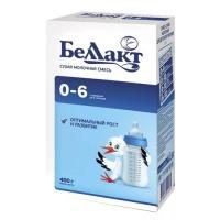 """Смесь сухая молочная """"Беллакт"""" для питания детей раннего возраста 0-6, 400гр."""
