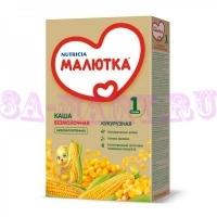 Каша Малютка безмолочная кукурузная с 6-ти месяцев 250г