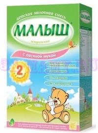 Молочноая смесь Малыш Истринский с овсяной мукой с 6-и месяцев, 350г