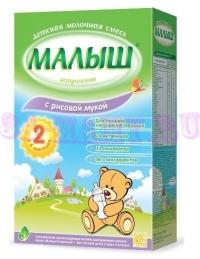 Молочноая смесь Малыш Истринский с рисовой мукой с 6-и месяцев, 350г