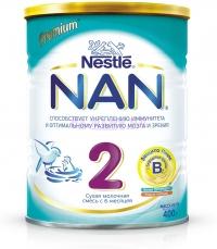 НАН 2 Сухая молочная смесь с 6 месяцев, 400 г