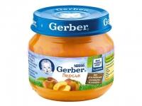 Gerber Пюре персик с 4 месяцев 80 мл